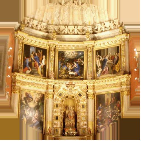 Iglesia Retablo